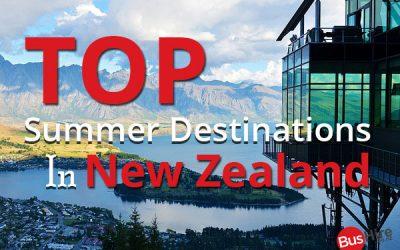 Top Summer Destinations in New Zealand