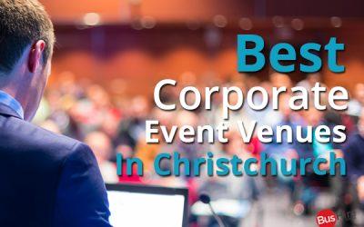 Best Corporate Event Venues In Christchurch