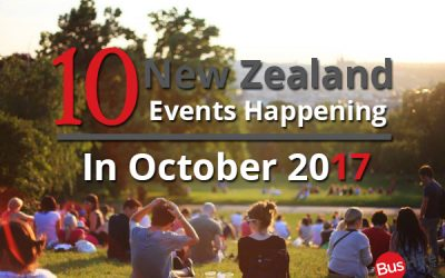 10 New Zealand Events Happening In October 2017