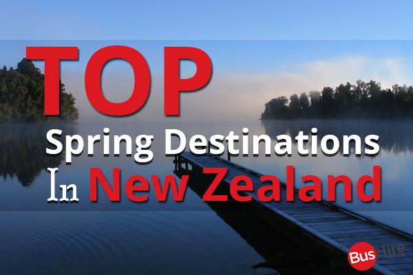 Top Spring Destinations in New Zealand