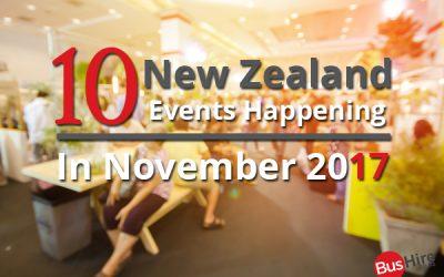 10 New Zealand Events Happening In November 2017