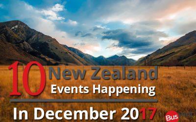 10 New Zealand Events Happening In December 2017