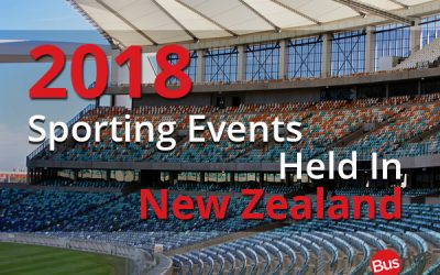 2018 Sporting Events Held In New Zealand