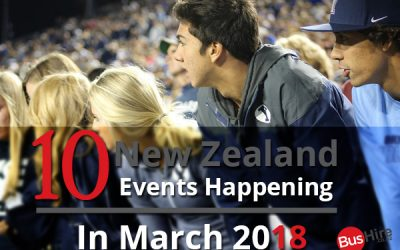 10 New Zealand Events Happening In March 2018