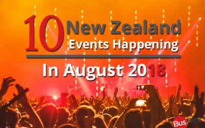 10 New Zealand Events Happening In August 2018